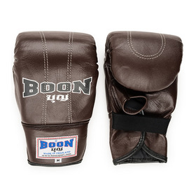 Boon Brown Leather Bag Gloves