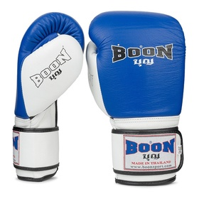Boon Sport Compact Blue & White Gloves