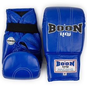 Boon Blue Leather Bag Gloves -  Medium