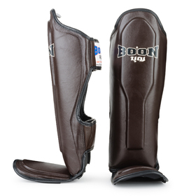 Boon Sport Shin Pads Brown