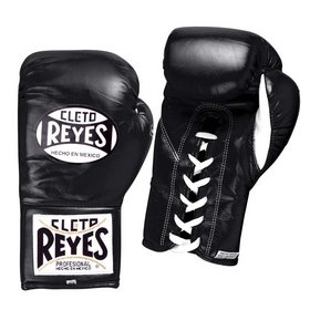 Cleto Reyes Black Contest Boxing Gloves