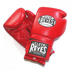 Cleto Reyes Velcro Boxing Gloves Red