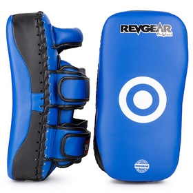 Revgear Curved Thai Kick Pads Blue & Black