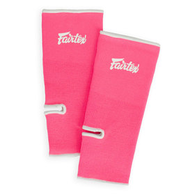 Fairtex Premium Ankle Supports Pink & White