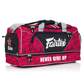 Fairtex Red Camo Heavy Duty Gym Bag