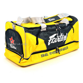 Fairtex Heavy Duty Gym Bag Yellow