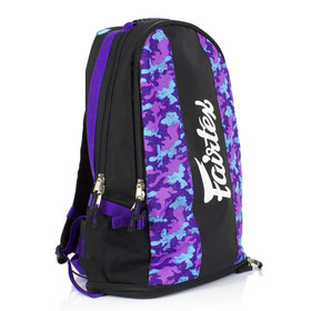 Fairtex Purple Camo Rucksack Gym Bag