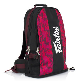 Fairtex Red Camo Rucksack Gym Bag