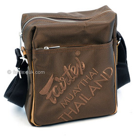 Fairtex Crossbody Messenger Style Bag Brown