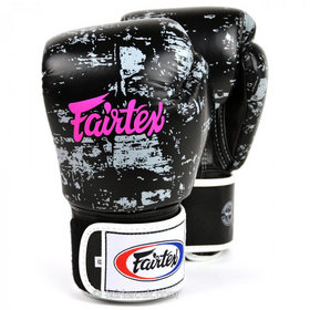 Fairtex Dark Cloud Velcro Boxing Gloves