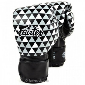 Fairtex Art Optical Prism Velcro Boxing Gloves