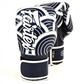 Fairtex Art The Wave of Kanagawa Velcro Boxing Gloves