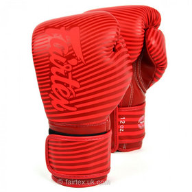 Fairtex Art Minimalism Velcro Boxing Gloves