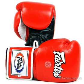 Fairtex Super Sparring Boxing Gloves Red
