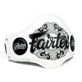 Fairtex White Light-Weight Belly Pad