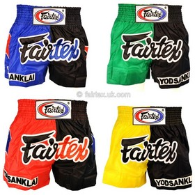 Fairtex Yodsaenklai Fairtex 4-Piece Shorts Set