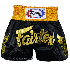 Fairtex Golden Horn Muaythai Shorts