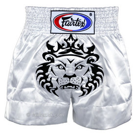Fairtex Satin Muay Thai Shorts Leo