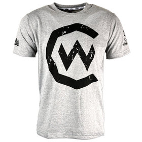 Fairtex X Cage Warriors T-Shirt Grey-Black
