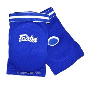 Fairtex Competition Elbow Pads Blue