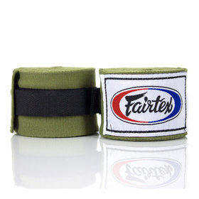 Fairtex Olive Green 4.5m Stretch Wraps