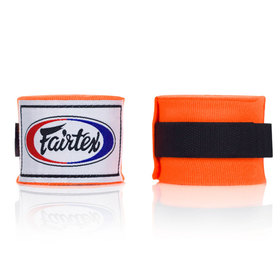 Fairtex Orange 4.5m Stretch Wraps