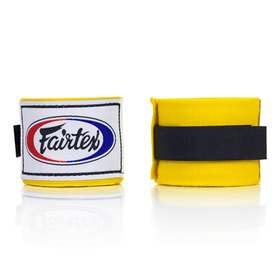 Fairtex Yellow 4.5m Stretch Wraps