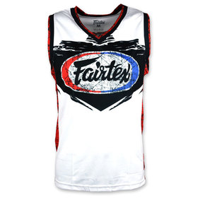 Fairtex Basketball Jersey White