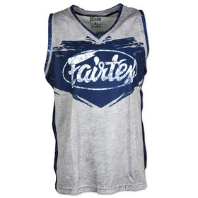 Fairtex Basketball Jersey Grey-Blue