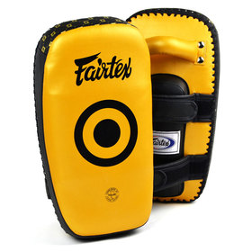 Fairtex Light Weight Thai Kick Pads Gold