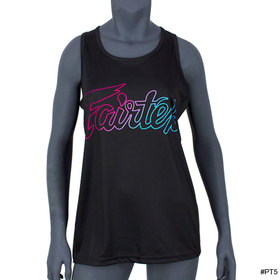 Fairtex Womens Tank Top Black-Neon