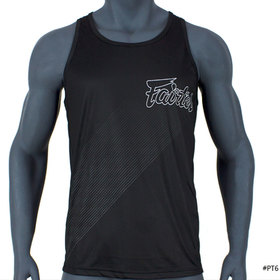 Fairtex Mens Tank Top Black-Grey