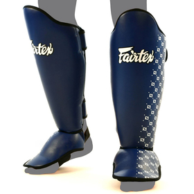 Fairtex Blue Shin Pads