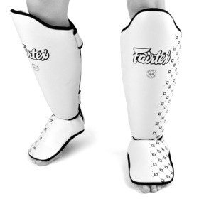 Fairtex White Shin Pads