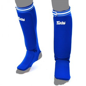 Fairtex Competition Shin Pads Blue