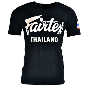 Fairtex Cotton T-Shirt Black Thailand