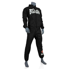 Fairtex Vinyl Sweatsuit Black