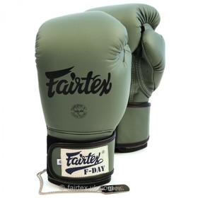 Fairtex F-DAY Velcro Boxing Gloves