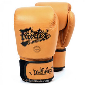 Fairtex Retro Velcro Boxing Gloves