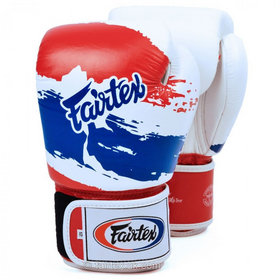 Fairtex Thai Pride Velcro Boxing Gloves