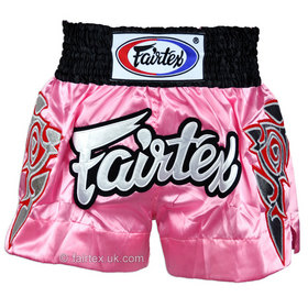 Fairtex Satin Muay Thai Shorts Modern Thai Art