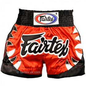 Fairtex Satin Muay Thai Shorts Yodsanklai Bite