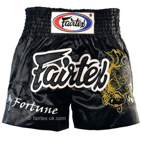 Fairtex Satin Muay Thai Shorts My Fortune