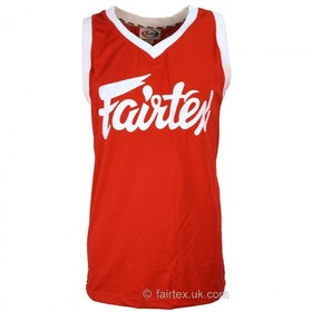 Fairtex Basketball Jersey Red