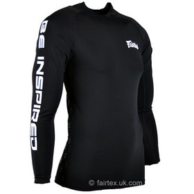 Fairtex Long Sleeve Rash Guard Black