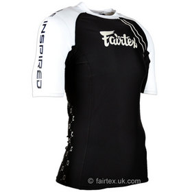 Fairtex Black & White Rash Guard