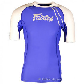 Fairtex Blue & White Rash Guard