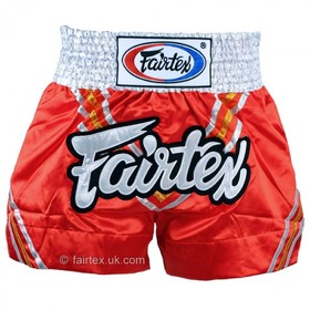 Fairtex Satin Muay Thai Shorts Triangle