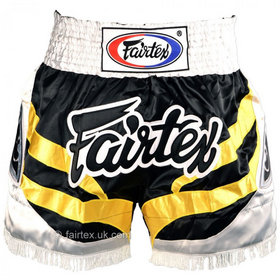 Fairtex Satin Muay Thai Shorts Eagle