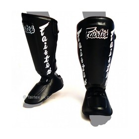 Fairtex Detachable Shin Pads Black